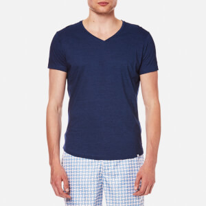 Orlebar Brown Men's OB V-Neck T-Shirt - Denim Pigment
