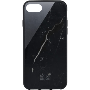 Native Union Clic Marble Metal iPhone 7 Case - Black