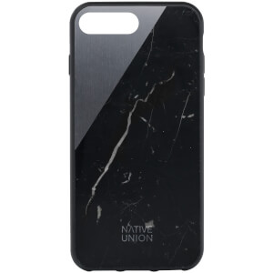 Native Union Clic Marble Metal iPhone 7 Plus Case - Black