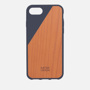 Native Union Clic Wooden iPhone 7 Case - Marine