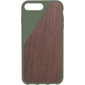 Native Union Clic Wooden iPhone 7 Plus Case - Olive