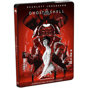 Ghost In The Shell - 4K Ultra HD Zavvi UK Exclusive Limited Edition Steelbook (Includes Digital Download)