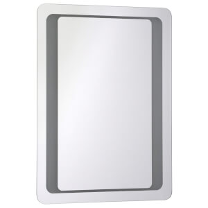 Premier Housewares Olena Illuminated Wall Mirror - Aluminium/Glass