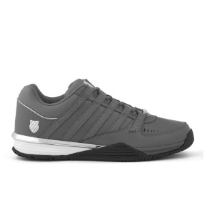 K-Swiss Men's Baxter Trainers - Charcoal/Silver/Black