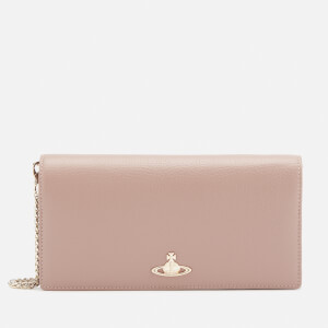 Vivienne Westwood Women's Balmoral Long Wallet with Chain - Beige