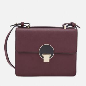 Vivienne Westwood Women's Opio Saffiano Small Shoulder Bag - Bordeaux