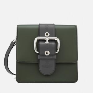 Vivienne Westwood Women's Alex Buckle Small Handbag - Green