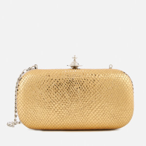 Vivienne Westwood Women's Verona Medium Clutch Bag - Gold