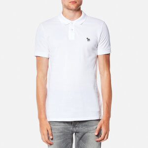 PS by Paul Smith Men's Slim Fit Zebra Logo Polo Shirt - White