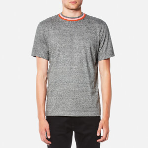 PS by Paul Smith Men's Pima Regular Fit T-Shirt - Grey/Pink