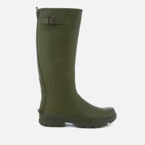 Barbour Men's Griffon Adjustable Tall Wellies - Olive