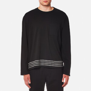Our Legacy Men's Box Long Sleeve Top - Black Embroidered