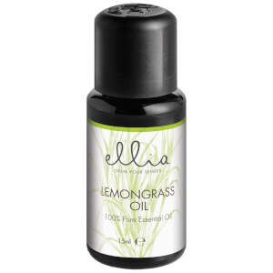Ellia Aromatherapy Essential Oil Mix for Aroma Diffusers - Lemongrass 15 ml