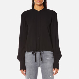 Helmut Lang Women's Drawstring Shirt - Black