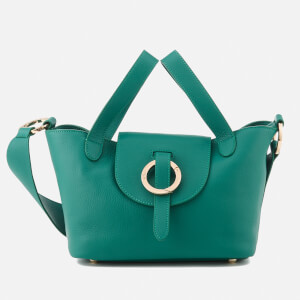 meli melo Women's Rose Thela Mini Floater Bag - Forest Green