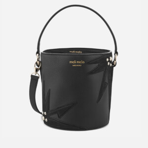 meli melo Women's Santina Mini Bucket Bag - Black/Wonderplant