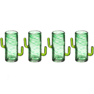 Cactus Shot Glasses (Set of 4)