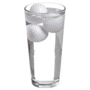 """19th Hole"" Golf Ball Drink Coolers - White"