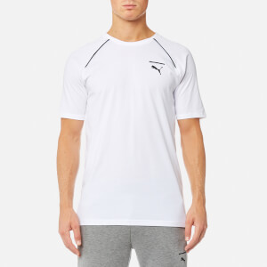 Puma Men's Evo Core Short Sleeve T-Shirt - Puma White