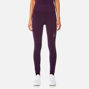 Lucas Hugh Women's Technical Knit 7/8 Leggings - Aubergine