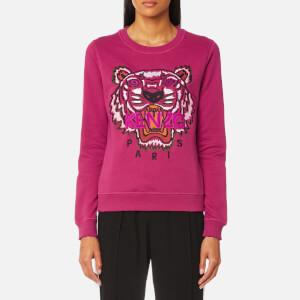 KENZO Women's Classic Tiger Sweatshirt - Deep Fuchsia