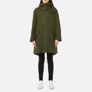 KENZO Women's Parka with Removeable Lining - Dark Khaki