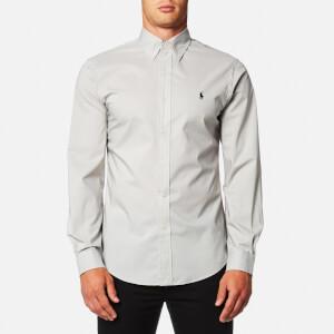 Polo Ralph Lauren Men's Slim Fit Poplin Shirt - Grey