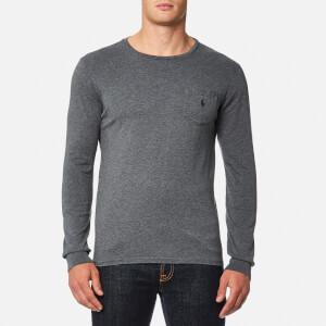 Polo Ralph Lauren Men's Long Sleeve Basic T-Shirt - Charcoal