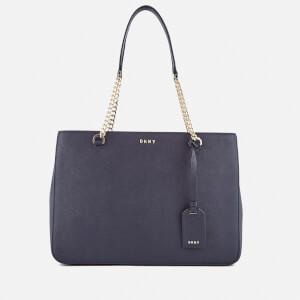 DKNY Women's Bryant Park Shopper Tote Bag - Navy