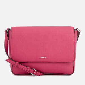 DKNY Women's Bryant Park Flap Cross Body Bag - Cerise