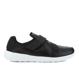 Brave Soul Men's Taylor Strap Trainers - Black