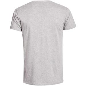DC Comics Men's Superman Distressed Logo T-Shirt - Grey: Image 2