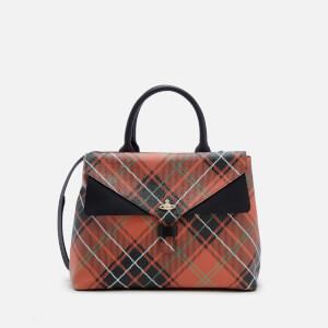Vivienne Westwood Women's Edinburgh Check Print Tote Bag - Charlotte