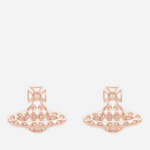 Vivienne Westwood Women's Harlequin Bas Relief Earrings - Light Peach/White