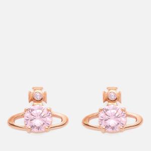 Vivienne Westwood Women's Reina Earrings - Pink Cubic Zirconia