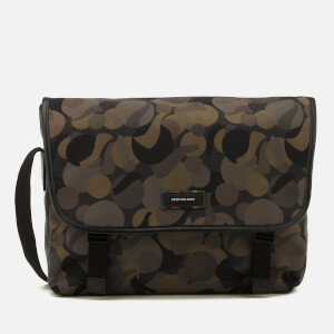 Paul Smith Men's PS Large Marble Camo Messenger Bag - Multi