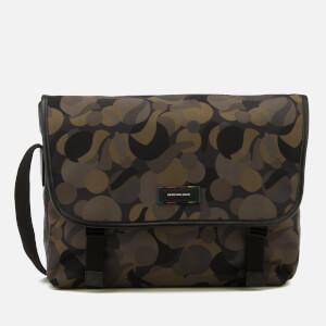 Paul Smith Men's PS Large Marble Camo Messenger Bag - Multi