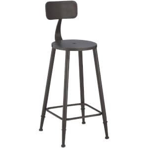 Fifty Five South New Foundry Bar Chair - Metal