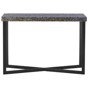 Fifty Five South Fusion Console Table - Crackle Mosaic