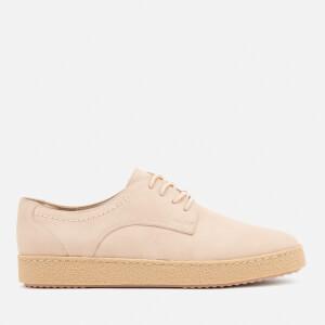 Clarks Women's Lillia Lola Nubuck Derby Shoes - Nude Pink