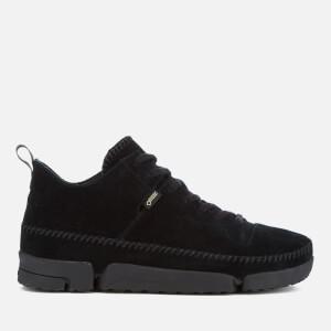 Clarks Originals Men's Trigenic Dry Gore-Tex Shoes - Black Suede