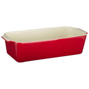 From Scratch Loaf Dish - Red Stoneware