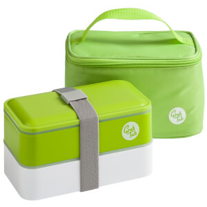Grub Tub Lunch Box with Cool Bag - Green