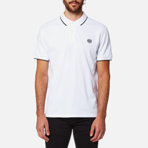 KENZO Men's Slim Fit Polo Shirt - White