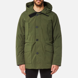 KENZO Men's Long Parka - Dark Khaki