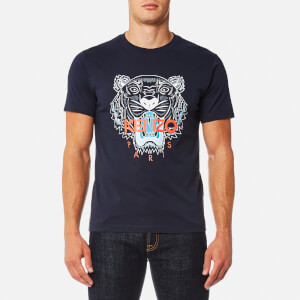KENZO Men's Tiger Logo Icon T-Shirt - Ink
