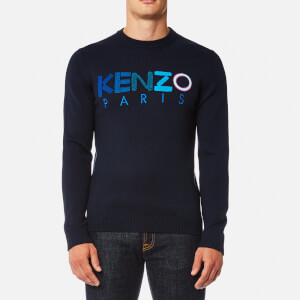 KENZO Men's Logo Sweatshirt - Navy Blue