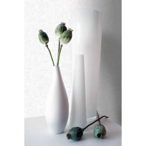 Kelly Hoppen Shimmer Textured Plain Metallic Wallpaper - White