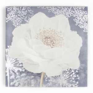 Art For The Home Lilac Bloom Floral Printed Canvas Wall Art