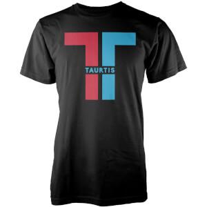 T-Shirt Homme Taurtis Split Logo Insignia -Noir